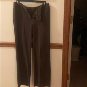 New Directions, size 2P, wide leg, slacks Brown